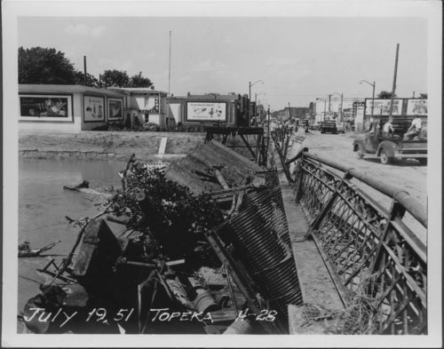Flood damage, Topeka, Kansas - Page
