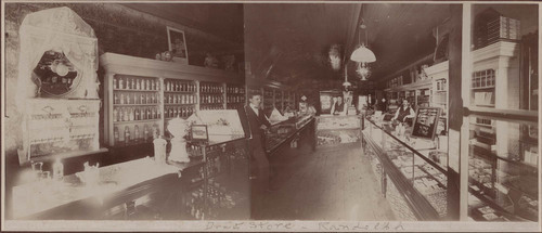 Newman Brothers Drug Store, Randolph, Kansas - Page