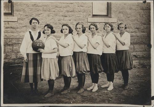 Randolph High School girls basketball team, Randolph, Kansas - Page