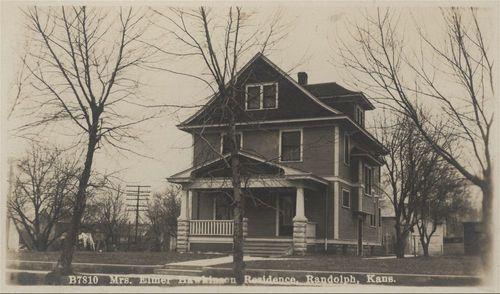 Hawkinson and Newman residence, Randolph, Kansas - Page