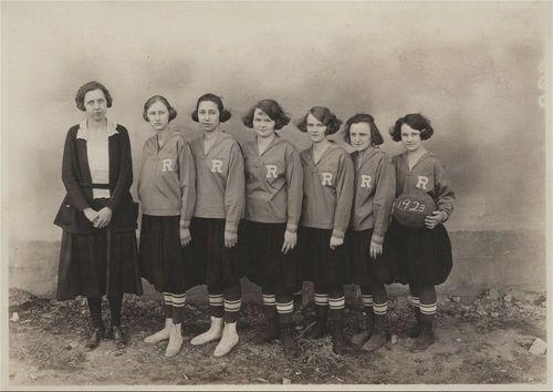 Randolph High School girls' basketball team, Randolph, Kansas - Page