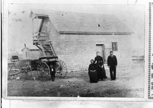 Henry Werth farm, Schoenchen, Kansas - Page