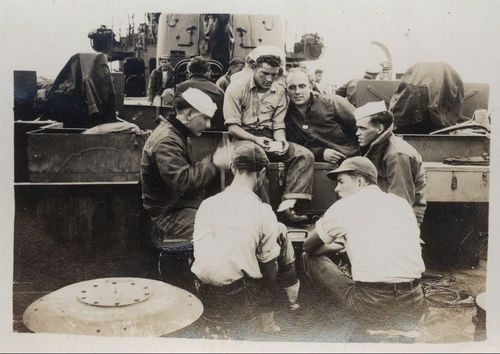 Sailors on the USS Hopewell - Page
