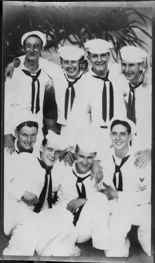 Sailors from the USS Hopewell - Page
