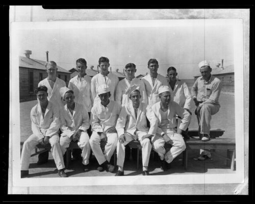 Civilian Conservation Corps members, Kalvesta, Kansas - Page
