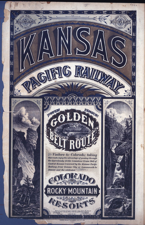 Kansas Pacific Railway golden belt route - Page