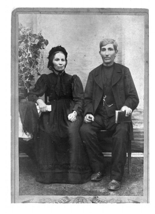 Mennonite couple in Kansas