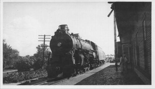 Atchison, Topeka and Santa Fe Railway Company's steam locomotive #3463 - Page