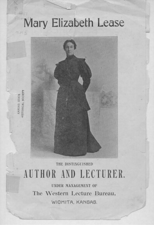 Mary Elizabeth Lease, the distinguished author and lecturer - Page
