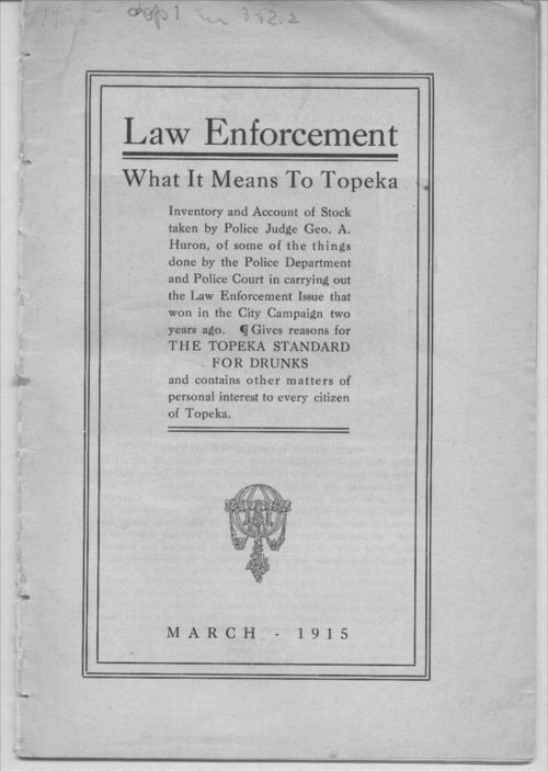 Law enforcement.  What it means to Topeka - Page