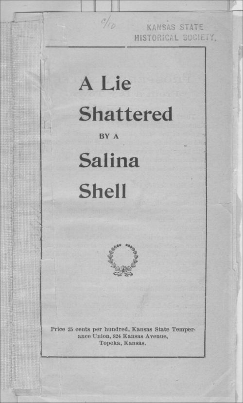 A lie shattered by a Salina shell - Page