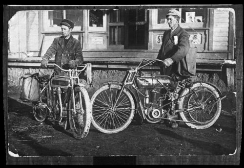 Postal mail carriers, Webber, Kansas - Page