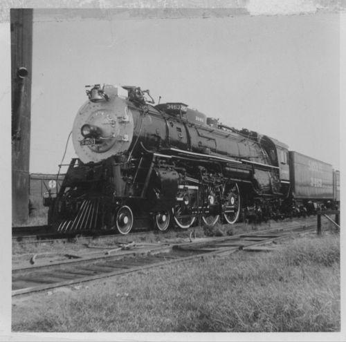 Atchison, Topeka & Santa Fe Railway Company's steam Locomotive #3463 - Page