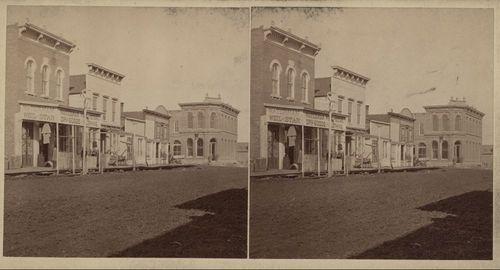 Street scene, Chetopa, Kansas - Page
