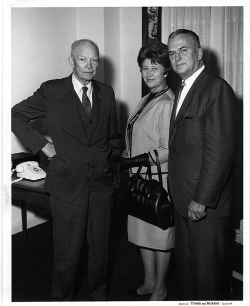 William Henry Avery, Hazel Vivian Bowles Avery, and Dwight David Eisenhower - Page