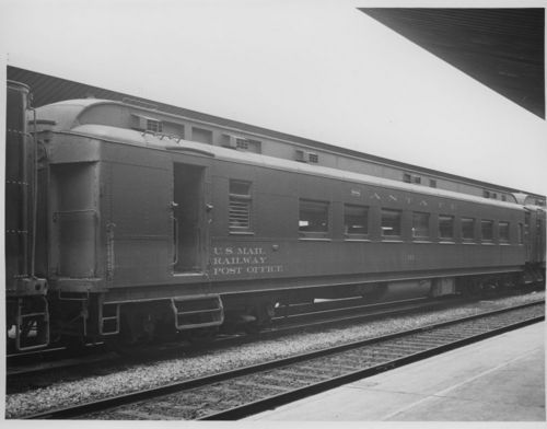 U. S. mail railway post office car #91 - Page