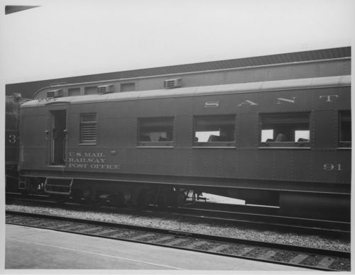 U.S. mail railway post office car #91 - Page