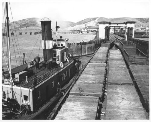 Marine tugboat, Point Richmond, California - Page