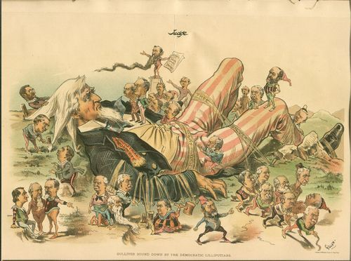 Gulliver bound down by the Democratic Lilliputians - Page