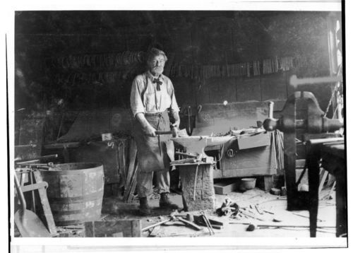 Newman Blacksmith Shop, Valley Falls, Kansas - Page