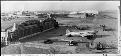 Photo of Fairfax Airport, Kansas City, Kansas, 1940-1959