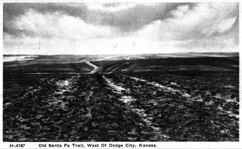 Santa Fe Trail ruts, Ford County Kansas - Page
