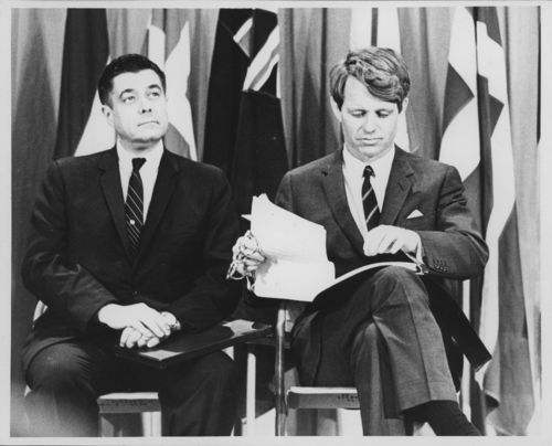 Governor Robert Docking and Robert Kennedy - Page