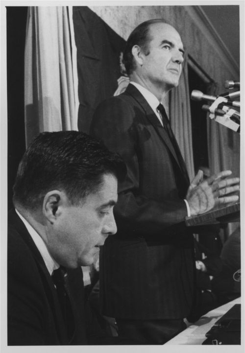 U.S. Senator George McGovern and Governor Robert Docking - Page