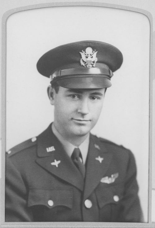 A portrait of Lt. Jack C. Davis, 