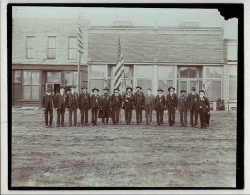 Grand Army of the Republic reunion, Jewell County, Kansas - Page