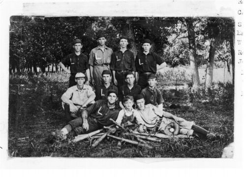 Baseball team, Lovewell, Kansas - Page