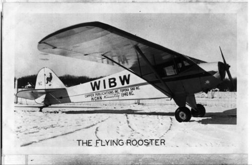 "WIBW ""Flying Rooster"" airplane Topeka, Kansas - Page"