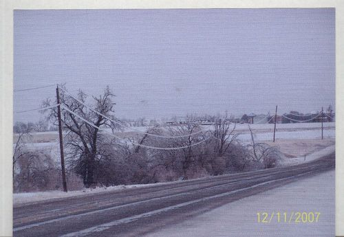 Ice storm damage, Nemaha County, Kansas - Page