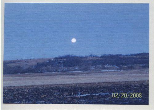 Lunar eclipse, Nemaha County, Kansas - Page
