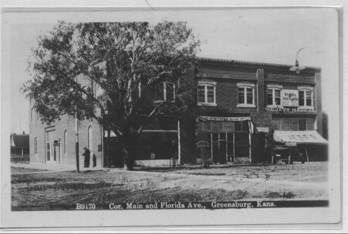 Corner of Main and Florida Avenue, Greensburg, Kansas - Page