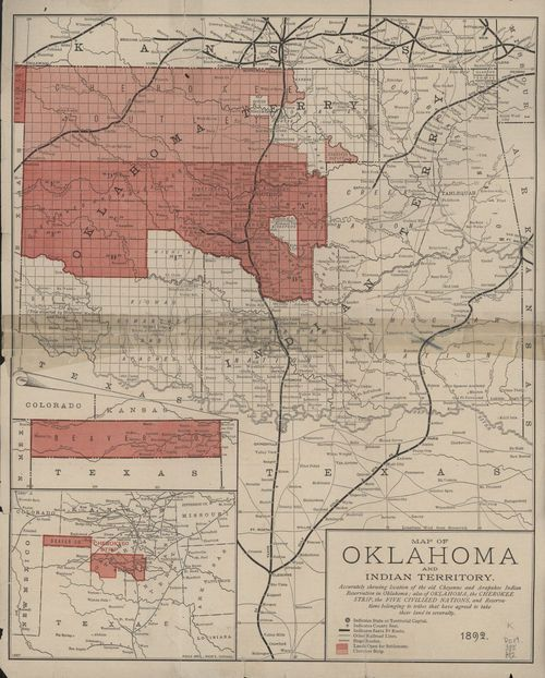 Beautiful Oklahoma and Indian Territory - Page