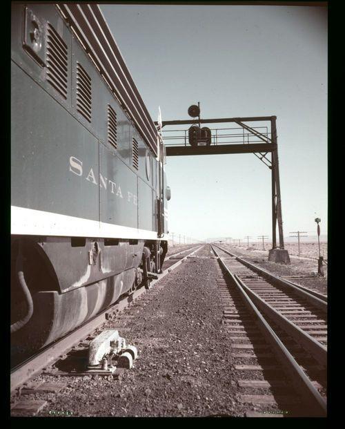 Atchison, Topeka & Santa Fe Railway automatic block signal system, Armijo, New Mexico - Page