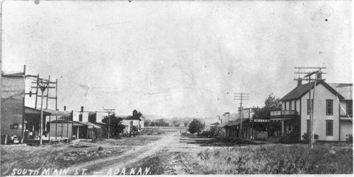 South Main Street, Ada, Kansas - Page