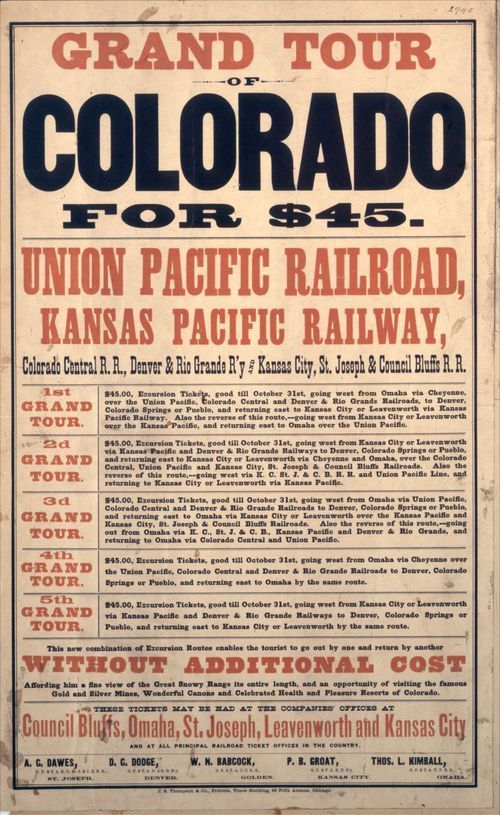 Grand Tour of Colorado for forty-five dollars - Page