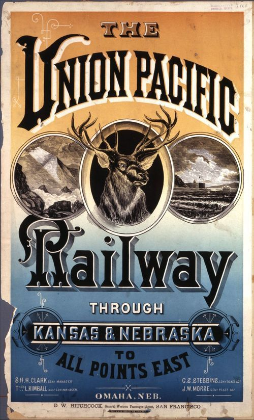 The Union Pacific Railway through Kansas and Nebraska to all points East - Page