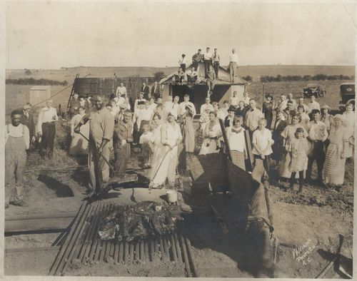Barbecue in Linn County, Kansas - Page