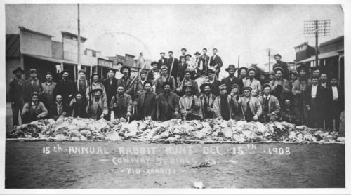 Rabbit hunt, Conway Springs, Kansas - Page