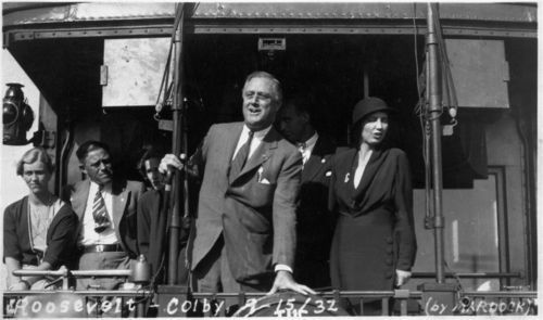 Franklin Delano Roosevelt, Colby, Kansas - Page