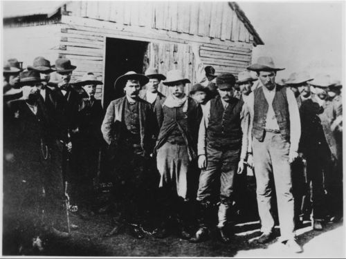 Bank robbers, Medicine Lodge, Kansas - Page