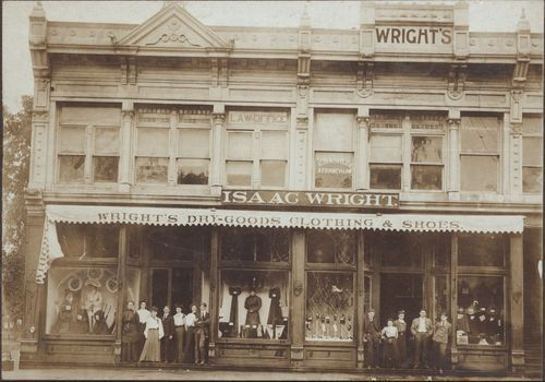 Wright's Dry Goods store, Columbus, Kansas