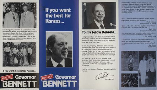 Re-elect Governor Bennett - Page