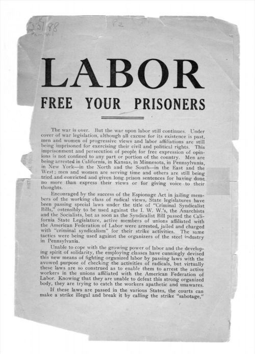 Labor free your prisoners - Page