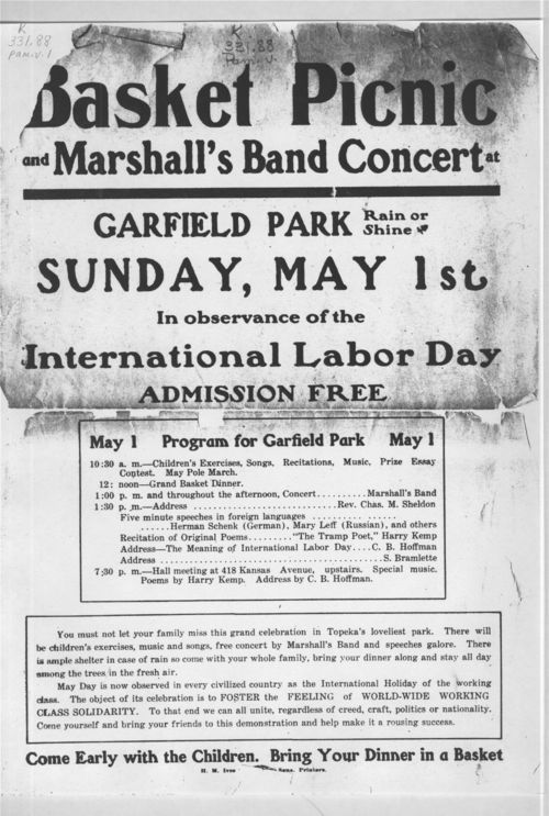 Basket picnic and Marshall's band concert - Page