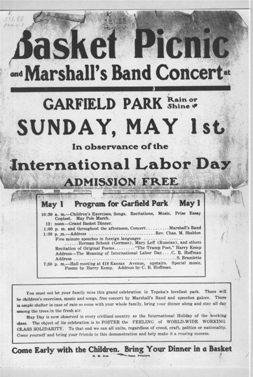 Basket picnic and Marshall's band concert - Page
