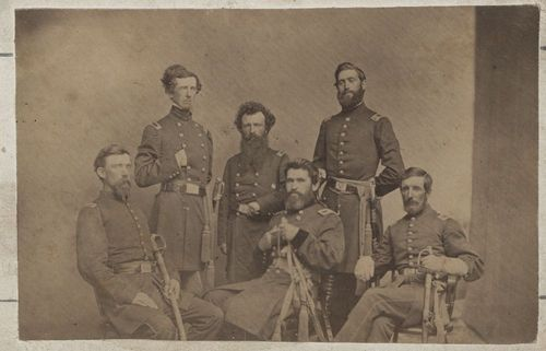 James Gillpatrick Blunt and staff - Page
